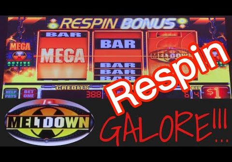MEGA MELTDOWN SLOT!!!! Lots of BIG WINS!