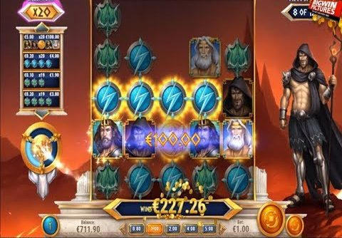 Rise Of Olympus Slot – MEGA Big Win!