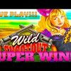 SUPER BIG WIN!!! LIVE PLAY!!! WILD SHOOTOUT SLOT MACHINE!!!