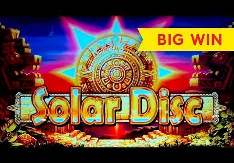 Solar Disc Slot – BIG WIN BONUS, AWESOME!