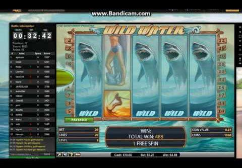 Wild Water Slot Super Mega Big Win