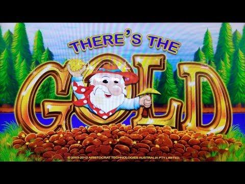 🎈I GOT IT!🎈 SUPER BIG WIN on THERE'S THE GOLD SLOT MACHINE POKIE BONUSES + MORE!!!