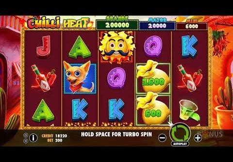 Chilli Heat Slot – BIG WIN – & Game Play – by Pragmatic Play