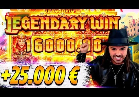 ROSHTEIN HUGE WIN 25.000€ ON NEW SLOT – Top 5 Biggest Wins of week