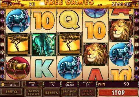 Safari Heat – Playtech slot big win