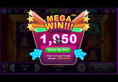 Online Game Slot-Pharaoh Cash (MEGA WIN!)