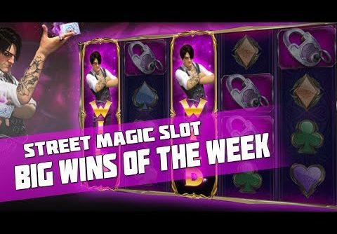BIG WINS OF THE WEEK | Biggest Wins #2 – Street Magic slot