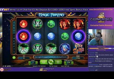 🎰 Magic Portals ⏩ NetEnt Casino Slots 🎰 MEGA WIN💲 + Free Spins Bonus Game💲