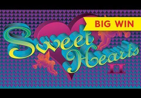 Sweet Hearts II Slot – BIG WIN BONUS!