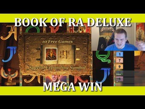 BACK TO BACK BONUS – MEGA WIN – BOOK OF RA DELUXE