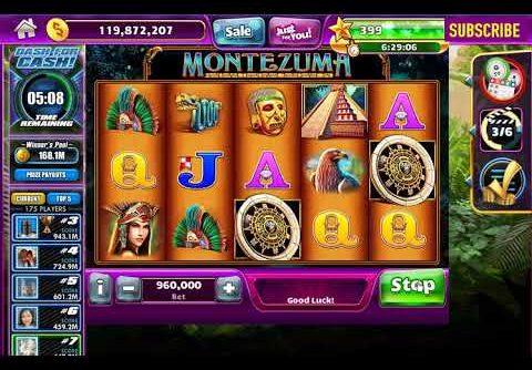 Montezuma WMS Slot BONUSES!!! BIG WIN – Jackpot Party Facebook Casino