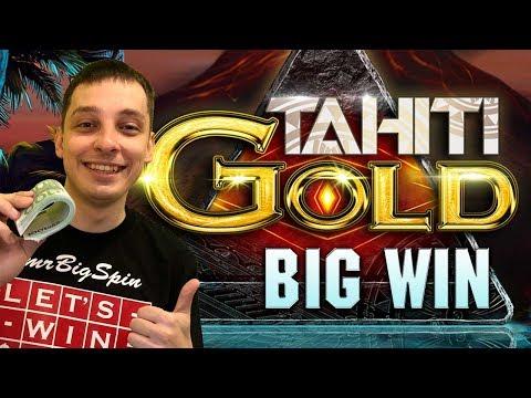 TAHITI GOLD SLOT BIG WIN FROM MRBIGSPIN