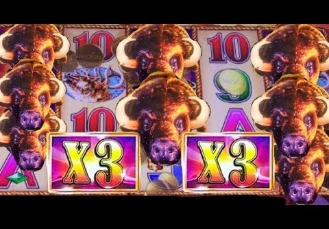 BUFFALO GOLD slot machine MEGA WIN – Mystical Unicorn slot BONUS and more!