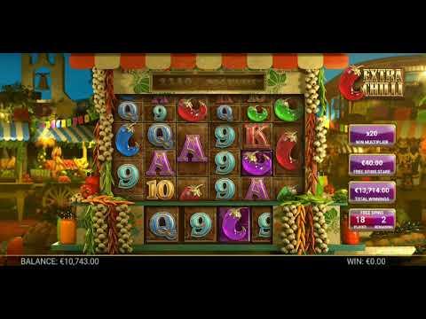#Casino #Extrachilli #BTG Extra Chilli Big Win #1 Big Time Gaming slot Mad Session