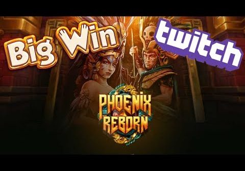 Huge Win on Phoenix Reborn Slot | Play n Go