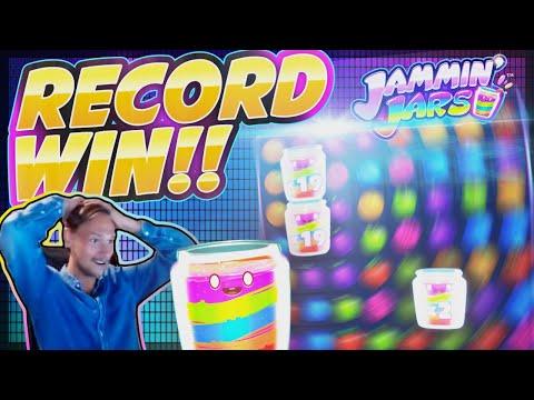 RECORD WIN!! Jammin Jars BIG WIN – MASSIVE WIN on Online Slot from Casinodady