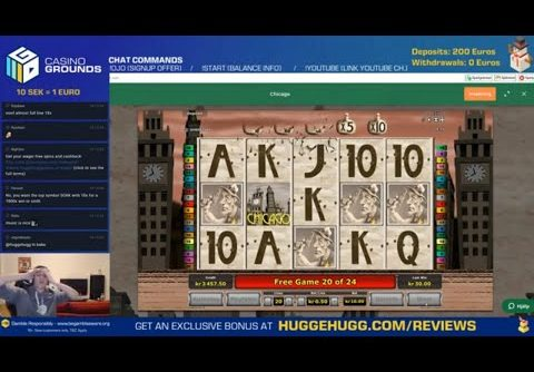 INSANE MEGA WIN in Chicago Slot!