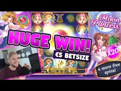 BIG WIN!!! Moon Princess BIG WIN – Slots – Casino games (Online slots)