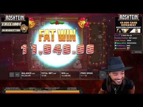 ROSHTEIN  win 75 000 € New World Record Jammin Jars slot   Top 5 Best Wins on Push Gaming