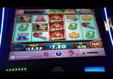 Timber Jack Bonus Big Win Slot Machine – Windcreek Wetumpka – One of Many Bonus