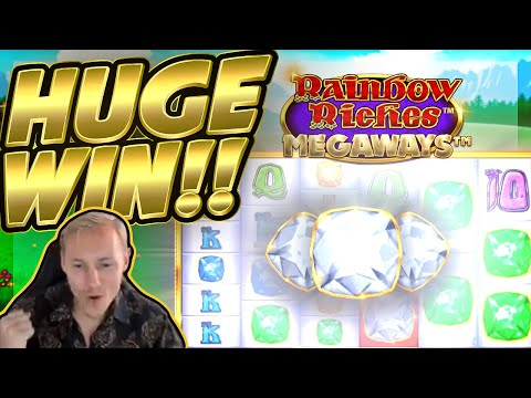 HUGE WIN!! Rainbow Riches Megaways BIG WIN!! Online Slot from CasinoDaddy Live Stream