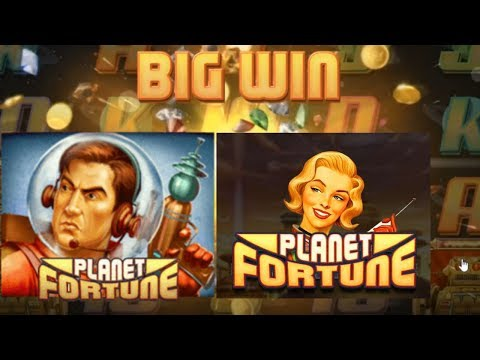Big Win on Planet Fortune Slot from Play n Go