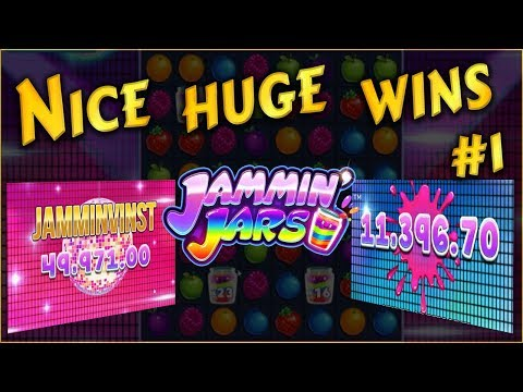 Nice huge wins on Jammin Jars slot #1. Push Gaming