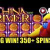 *SUPER BIG WIN!* CHINA RIVER | BALLY – 350+ FREE SPINS Slot Machine Bonus