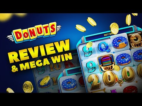 Donuts Slot Review (Big Time Gaming) and MEGA WIN
