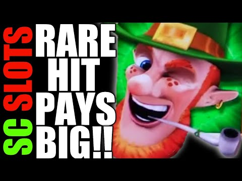 This Is Why We ❤ Aristocrat Slots!!! Rare BIG WIN on WILD LEPRE COINS – LIGHTNING CASH Slot Machine
