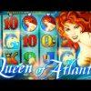 Queen of Atlantis BIG WIN BONUS + LIVE TOP HIT!!!  – 5c Aristocrat Video Slots