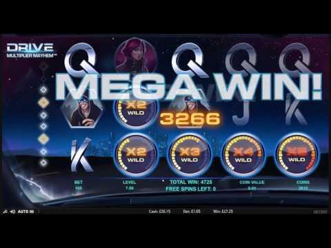 Drive Slot – Super Mega Win – NetEnt