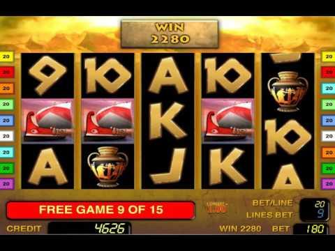 Sparta Slot – Mega Big Win Bonus