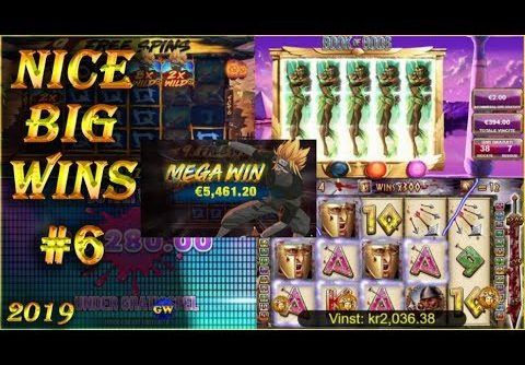 Nice big wins #6 / 2019 | casino streamers, online slots.