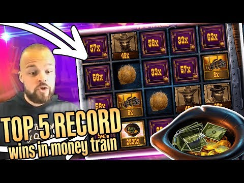 Mega Win in Money Train – top 5 BIG WINS – Record win x2090 on slot