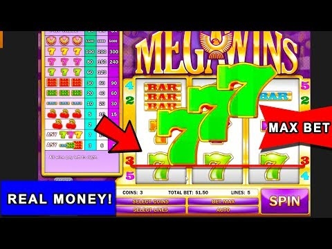 Mega Wins Slot Machine Wins As it Happens!