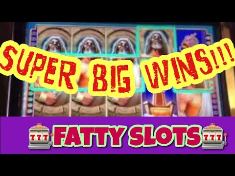 PROGRESSIVE SUPER BIG WINS! Kronos WMS Slot Machine bonuses
