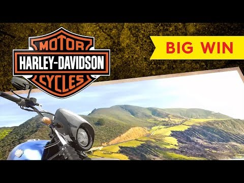 Harley-Davidson Slot – BIG WIN – All Features, AWESOME!