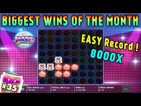 TOP 5 Biggest Wins on Jammin Jars slot! Online Casino! Wins of the July!