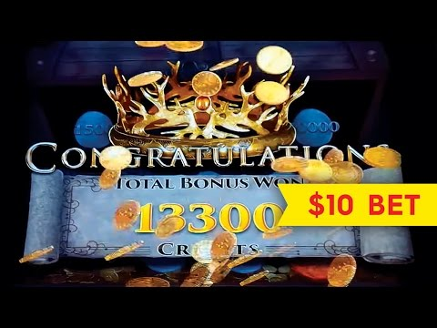 Game of Thrones Slot – $10 Max Bet – BIG WIN SESSION!