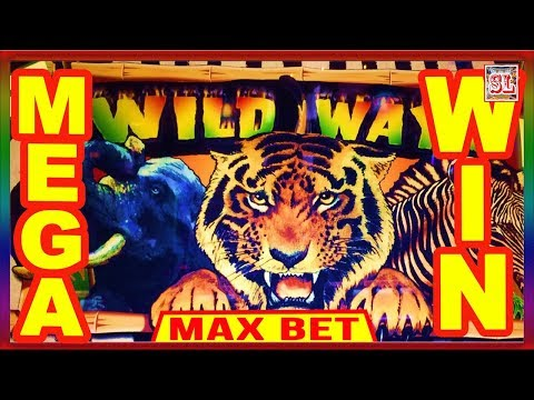 ** MEGA WIN ON WILD WAYS ** SLOT LOVER **