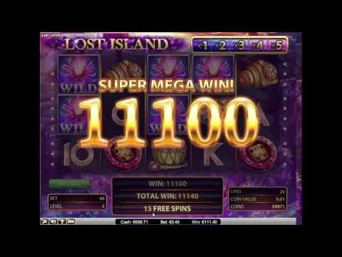 Lost Island Slot – Super Mega Win + Re-Trigger