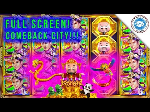 EPIC COMEBACK 🍀 Lunar Festival Gold Stacks 88 Slot FULL SCREEN! Super BIG WIN!