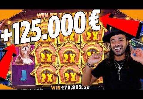 ROSHTEIN  win 125.000 € New World Record The Dog House slot –  Best bonus hunt ever