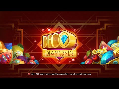 Slot Machine Big Win Game Deco Diamonds from Coinfalls Casino