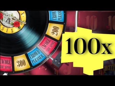 SUPER MEGA WIN! on Guns N' Roses Video Slots Encore Free Spins