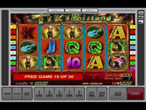 Tiki Island Slot Machine   Free Games Bonus And Biggest Win