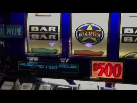 $500 Slot Machine Jackpot – Mega High Limit Red White And Blue Slot Machine