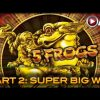 5 FROGS | Aristocrat – PART 2 of 2: SUPER BIG Win! Slot Machine Bonus