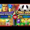 Mayan Chief vs China Shores Great Stacks Slots – Big WIn Bonuses